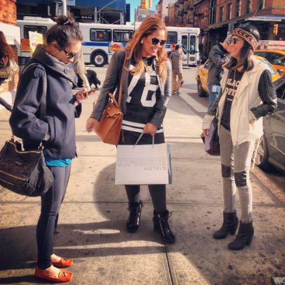 Meatpacking it in New York