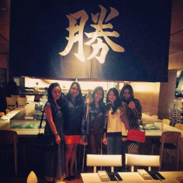 Pre-Thanksgiving dinner at Katsuya
