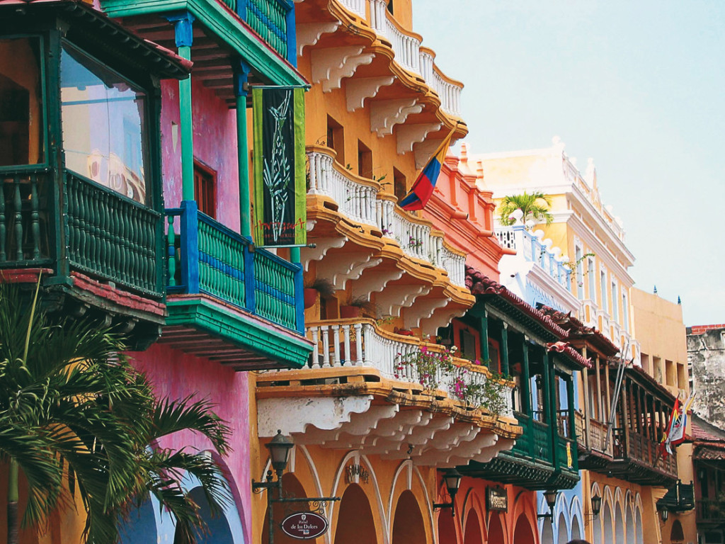 Cartagena, Colombia. Because when life can sometimes be so dark, who wouldn't want to live amidst so much color?