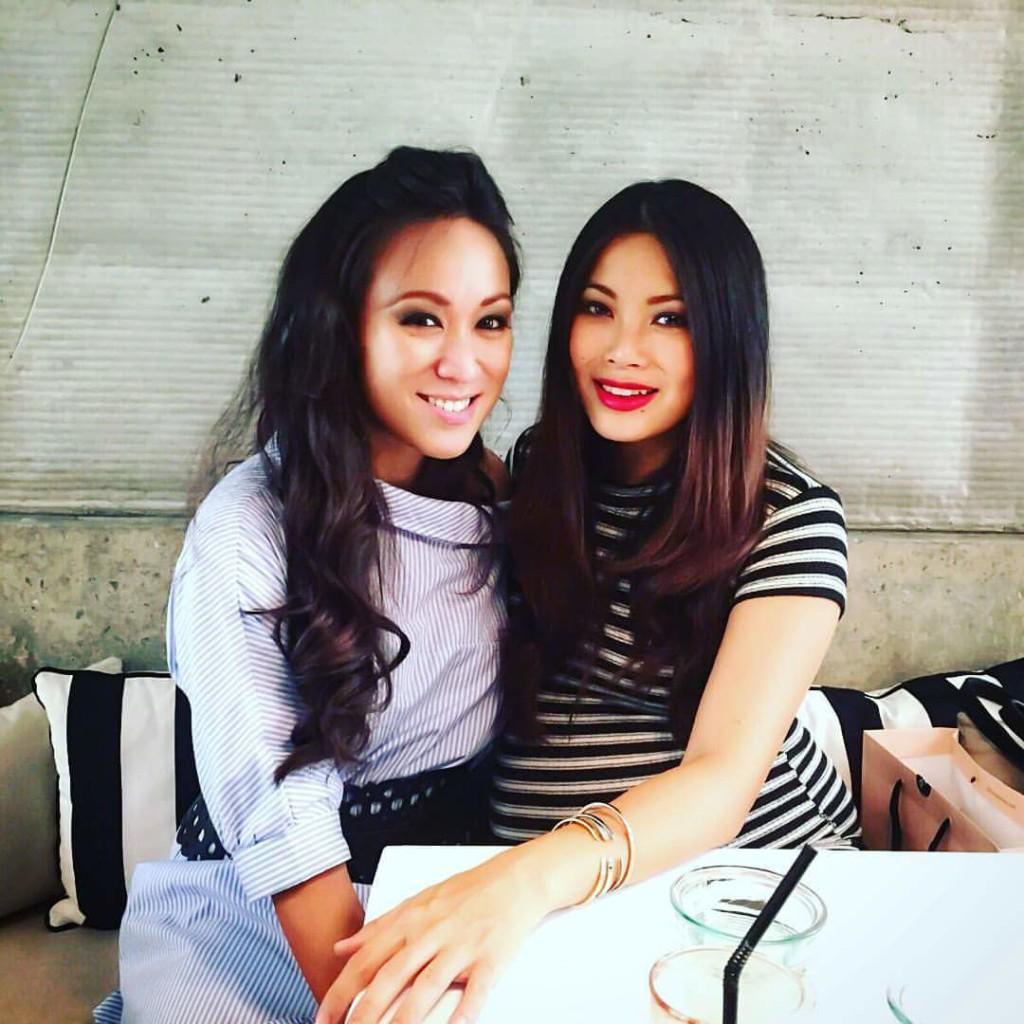 My birthday lunch with Yiu Lin, December 2015