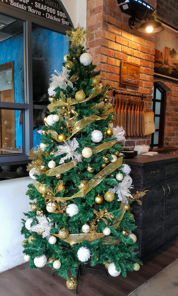 Christmas at Byblos Café & Lounge