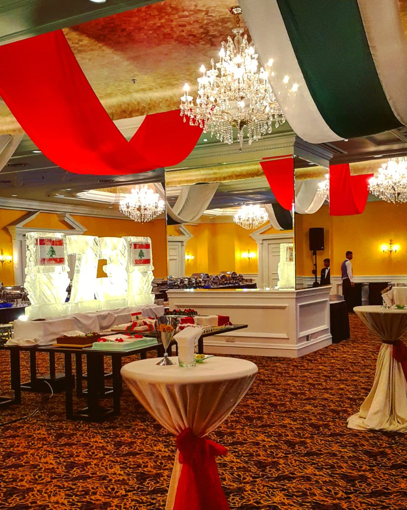 The Ritz-Carlton's incredibly overused banquet hall